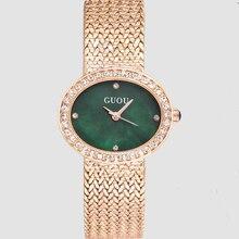 Fashion GUOU Top Luxury Brand Diamond Women Jewelry Watches