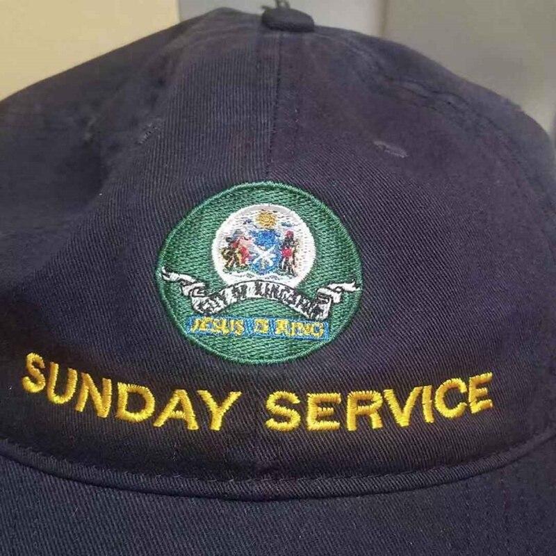 Jesus is King Kanye West Sunday Service Baseball Caps  5
