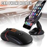 Novo mouse quente suporte do carro suporte do telefone ajustável dobrável silicone sucção windshield preguiçoso celular titular novo