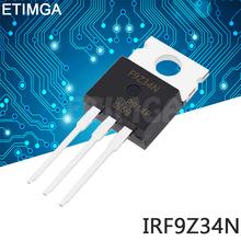10 sztuk partia IRF9Z34N TO220 IRF9Z34 TO-220 IRF9Z34NPBF nowy MOS FET tranzystor tanie tanio CN (pochodzenie) Tranzystor polowy Przez otwór