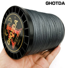 GHOTDA X12 X9 X8 Fishing Line 1000M 500M 300M 100M 12/9/8 Strands Braid PE Multifilament Fishing Line