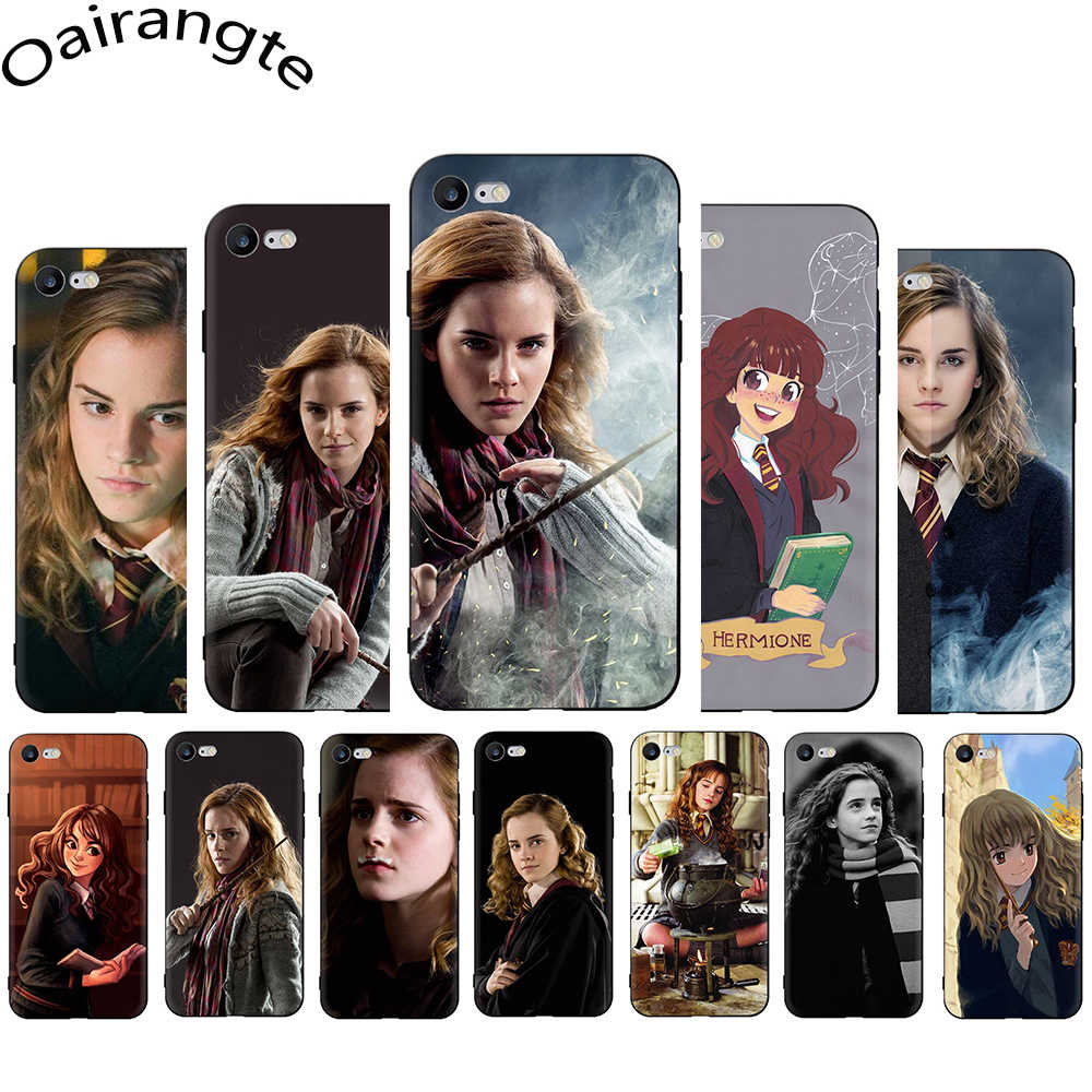 Hermione Jean Granger soft silicone phone cover for iphone 5 5s SE 2020 6 6s 7 8 Plus X XR XS 11 12 Pro Max 12 Mini