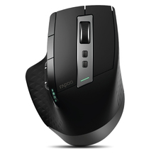 Rapoo MT750L Rechargeable Wireless Mouse for Laptop/Tablet,Switch Between Bluetooth/RT 2.4G Connect to 4 Devices,Free Travel Box