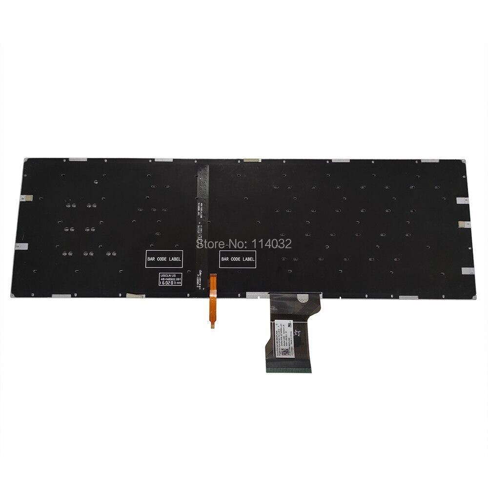 Teclado retroiluminado gl502 substituição teclados para asus