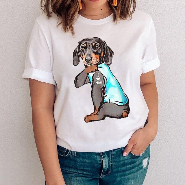 I Love Mom Women's T- Shirt 5