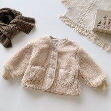 Г. Лидер продаж, пальто для мальчиков и девочек модные зимние куртки с длинными рукавами для детей от 2 до 7 лет