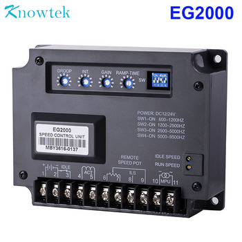 EG2000 Engine Speed Control Unit Controller 32VDC for diesel Generator Electronic Governor Control