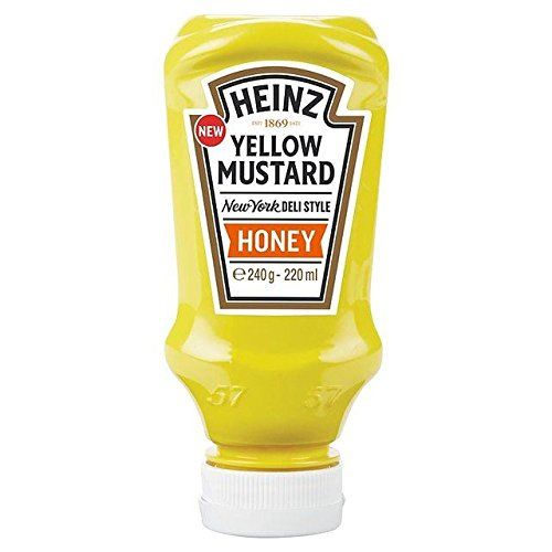 Heinz Jaune Moutarde Miel 220Ml