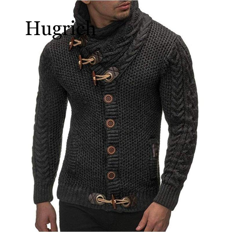 2020 Cardigan Sweater Coat Men Autumn Fashion Solid Sweaters Casual Warm Knitting Jumper Sweater Mens Coats Plus Size 3XL