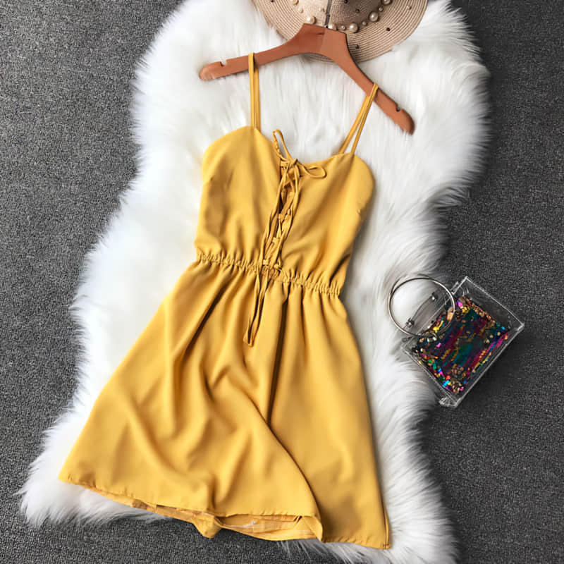 Hd9eae6afe1ab49fe8faebf2addc5bf45T - Candy Color Elegant Jumpsuit Women Summer Latest Style Double Ruffles Slash Neck Rompers Womens Jumpsuit Short Playsuit