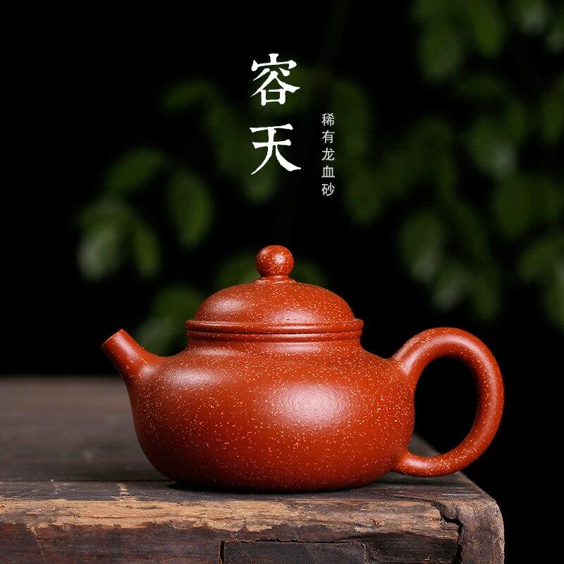 Sable de sang de Dragon de minerai brut Yung Days Pot en gros Yixing Drop pente ensemble de thé de boue actuellement disponible une génération de Support de graisse