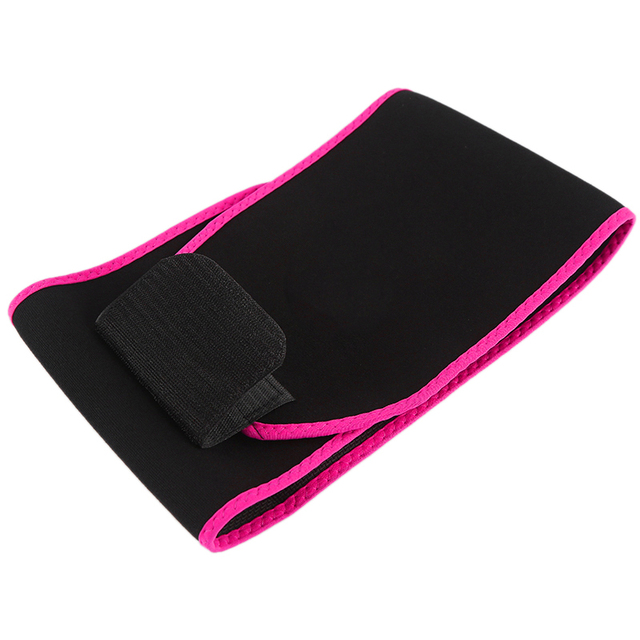 Adjustable Waist Support Waist Trimmer Belt Weight Loss Sweat Band Wrap Fats Tummy Stomach Sauna Sweat Belt For Walking Jogging- 2
