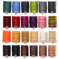 210D Leather Sewing Waxed Thread DIY Material Cord Leather Craft,1.2mm Diameter String Cotton Line Thread Leather Stitching Tool