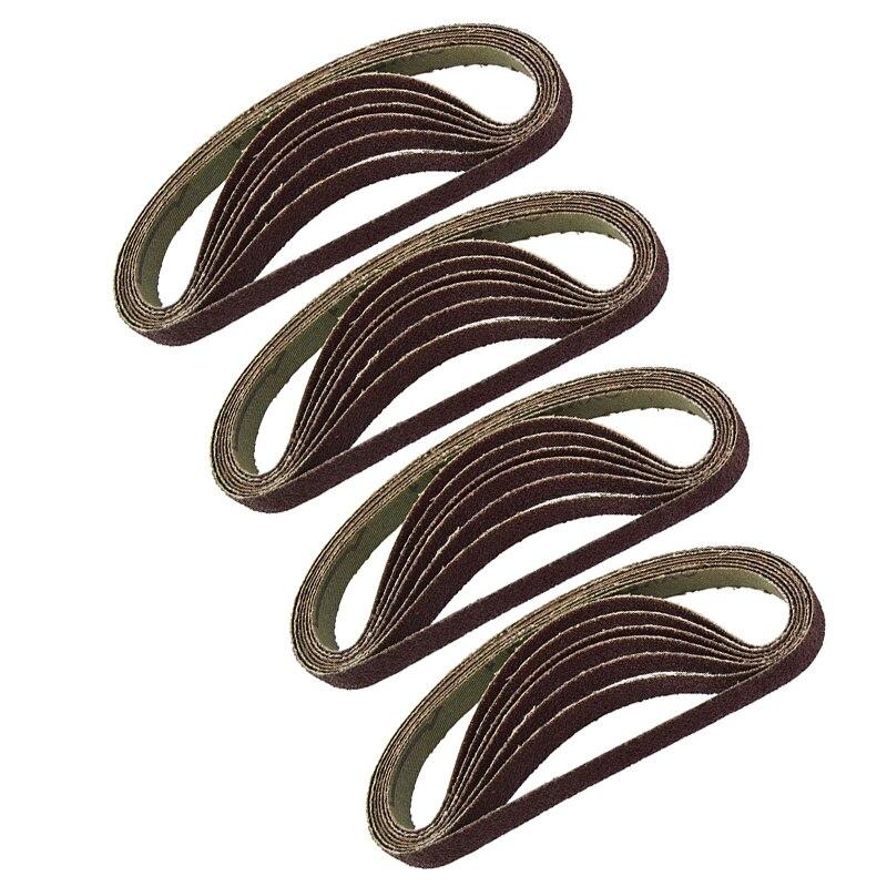 Оптовая продажа 10 шт набор шлифовальных лент 60 800 Grits для древесины пластиковые металлы|шлифовальные станки|   | АлиЭкспресс