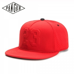 PANGKB Brand LEGEND CAP summer breathable quick drying red 23 snapback hat adult sports hip hop outdoor sun baseball cap