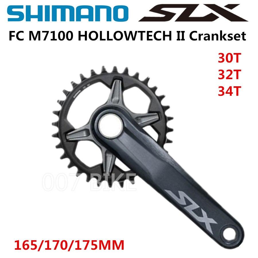 Shimano FC-M7100 SLX 12 Speed MTB Crankset New 170mm 30T