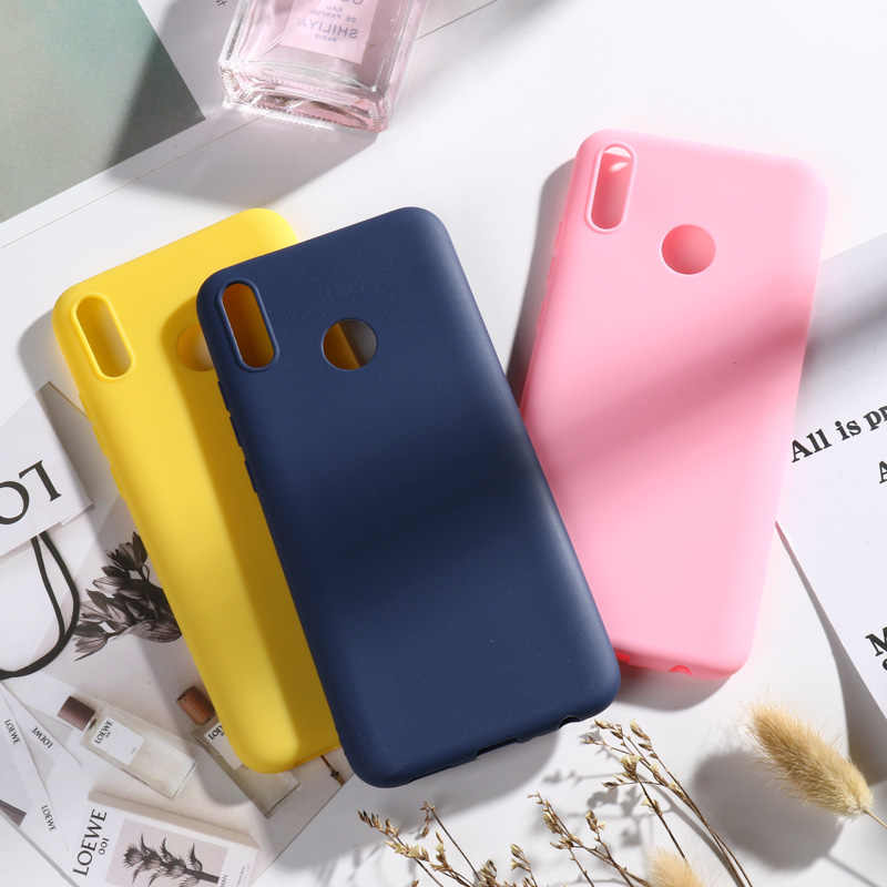 For Huawei P8 P9 P10 P20 Lite Plus P30 Pro 2017 P Smart 2019 Z Case Candy Color Soft Case For Huawei Mate 9 10 20 Lite Pro Cover