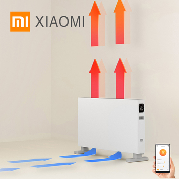 SMARTMI XIAOMI MIJIA Electric Heater Smart Version 1S Fast Handy Heaters for Home Room Fast Convector Fireplace Fan Wall Warmer convector resanta ok 1000 heating device electroconvector forced convection heater wall hung convector mechanical converter