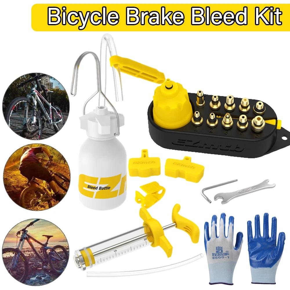 Bicycle Hydraulic Disc Brake Oil Bleed Kit Tools For SHIMANO SRAM TEKTRO MAGURA