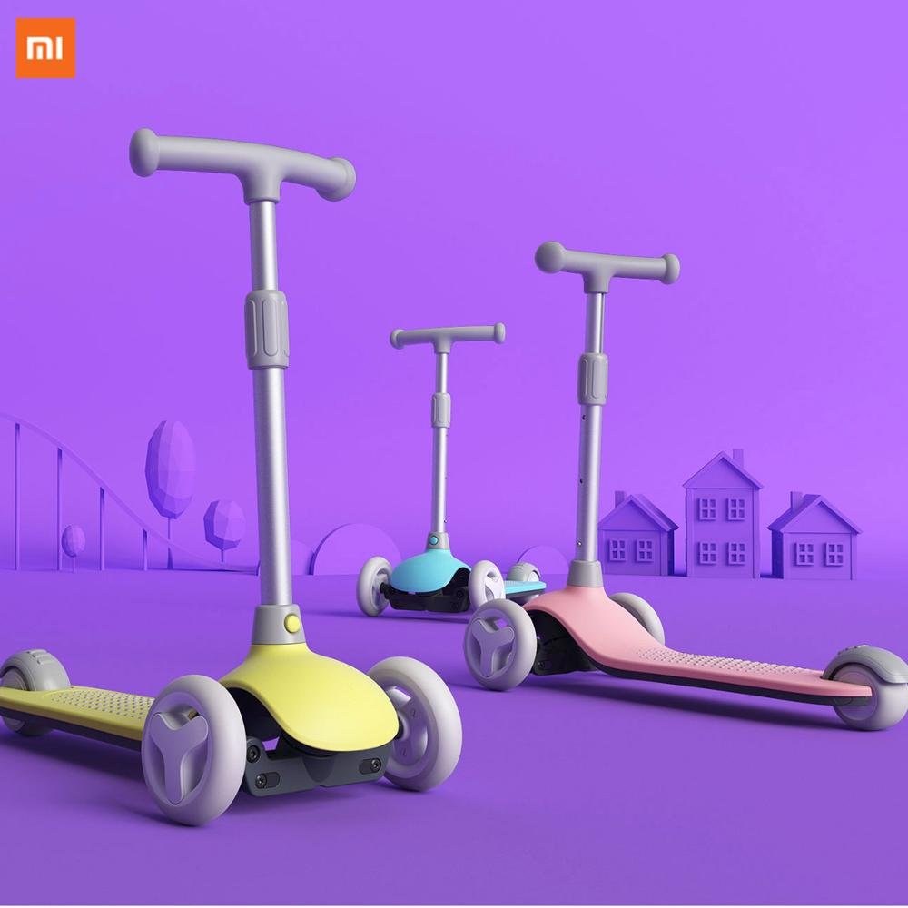 2020 New XIAOMI MIJIA MITU children's scooter exercise balance ability children's walker toy car lighting device electric car gi|Smart Remote Control| - AliExpress