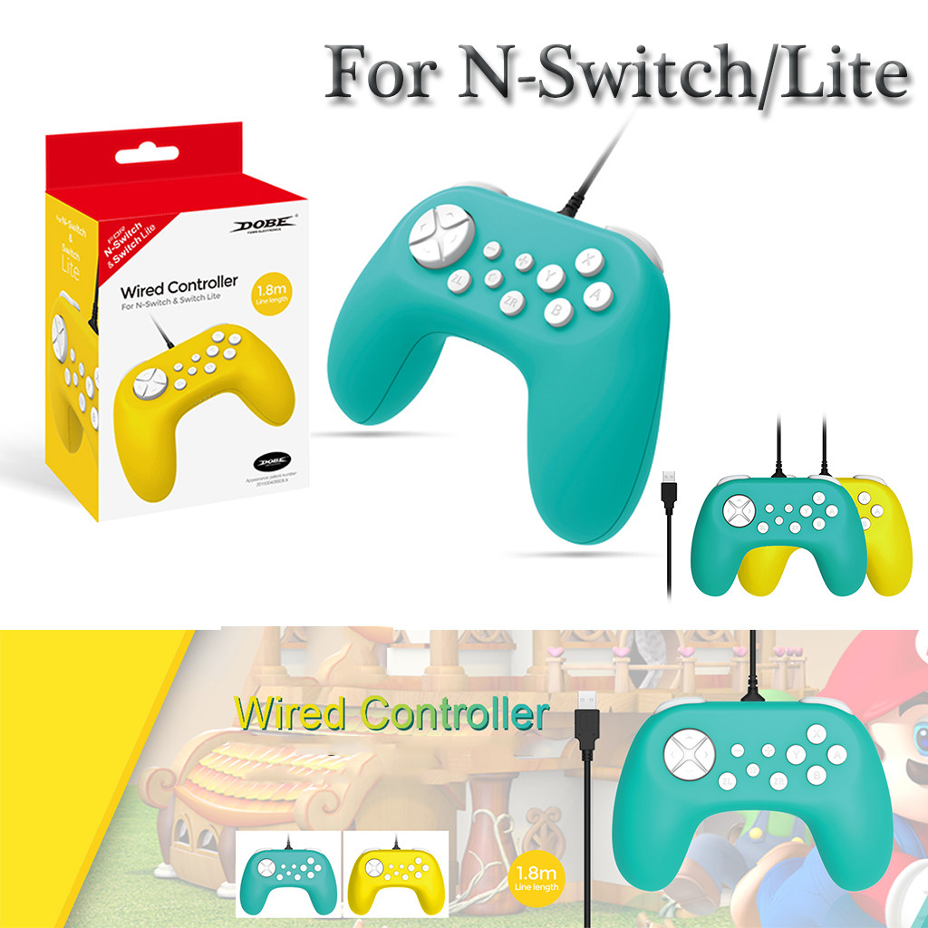 Wired Gamepad Game Controller Set For N-Switch Lite Main Engine Console Host Handle Ergonomic Design Casual Gamepad