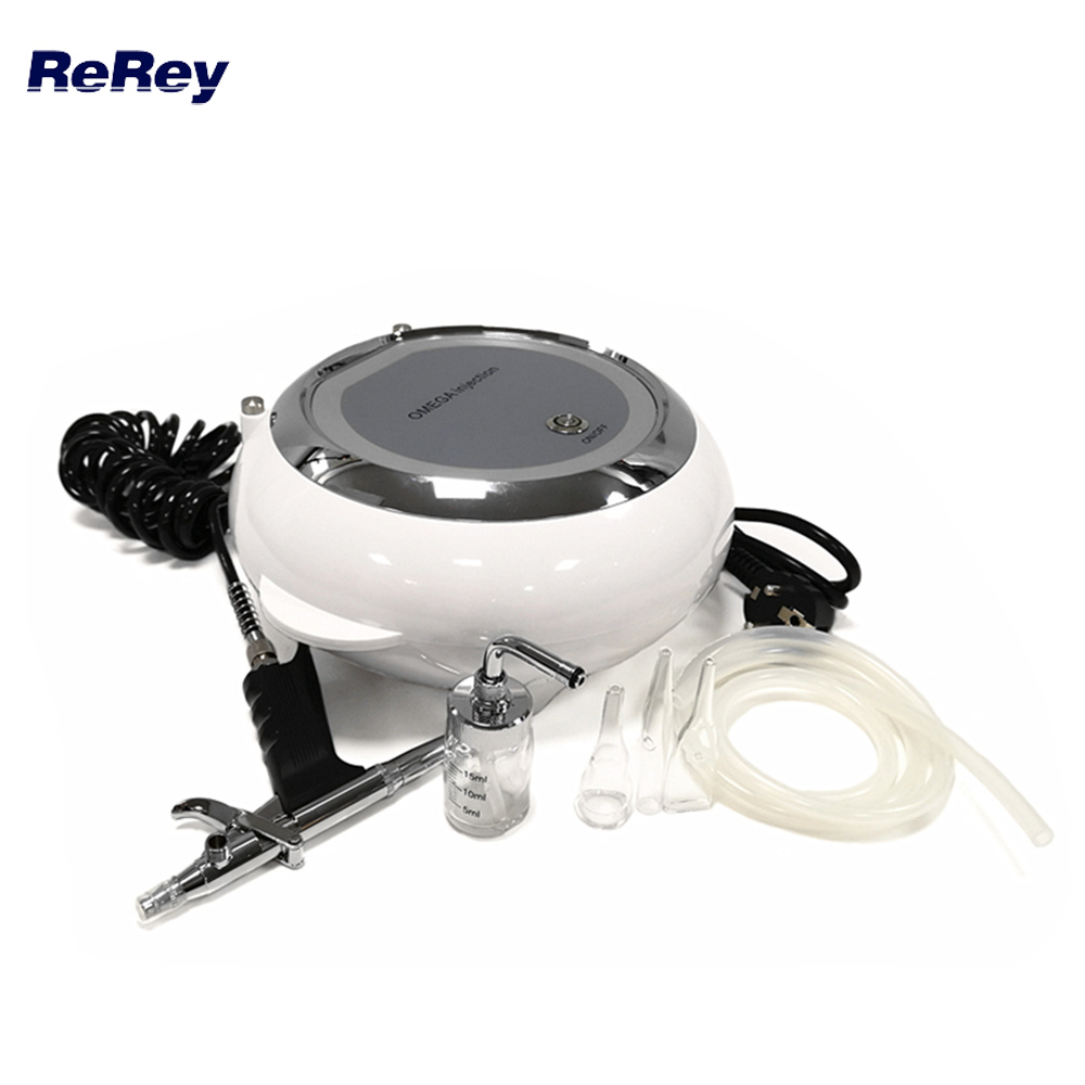 Water Oxygen Jet Peeling Skin Care Acne Treatment Facial Rejuvenation Skin Moisturizing Machine Face Care Oxygen Spraye