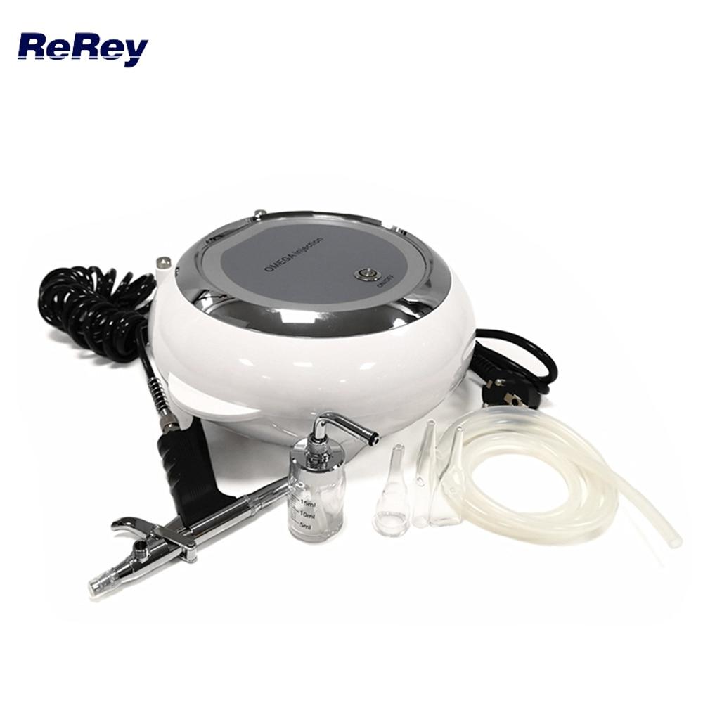 Water Oxygen Jet Peeling Skin Care Acne Treatment Facial Rejuvenation Skin Moisturizing Machine Face Care Oxygen Spraye