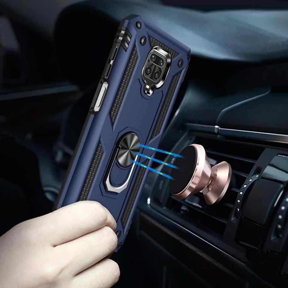 Từ Tính Ốp Lưng Cho Xiaomi Redmi Note 9S Ốp Lưng Giá Đỡ Giáp Bao Da Cho Xiaomi Redmi Note 8 8T 7 9 Pro Max K30 Pro 8A 7A Mi 10 9T