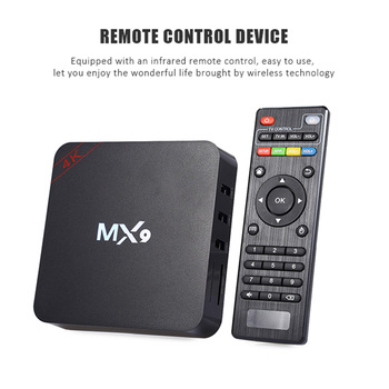 New MX9 4K Quad Core TV Set Top Box 1GB RAM 8GB ROM Android 4.4 Home Audio TV BOX HD HDMI WiFi Media Player image