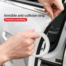 10 M/3 M Auto Styling Mouldings Universal Car Deur Protector Auto Rand Nano Scratch Protector Strips Afdichting Anti  wrijven Auto Accessoire