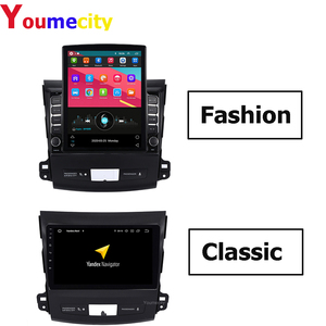 Eight Core/Android 9.0 Car Multimedia Player For Mitsubishi Outlander 2006-2013 with 2GRAM Radio DVD GPS Navigation BT WIFI(China)