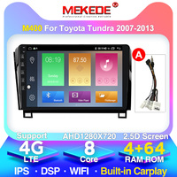 IPS DSP 4GB 64G 2 Din Android 10 Car Multimedia Player For Toyota Tundra Sequoia 2007 2008 2009 2010 20112012 2013 Stereo radio