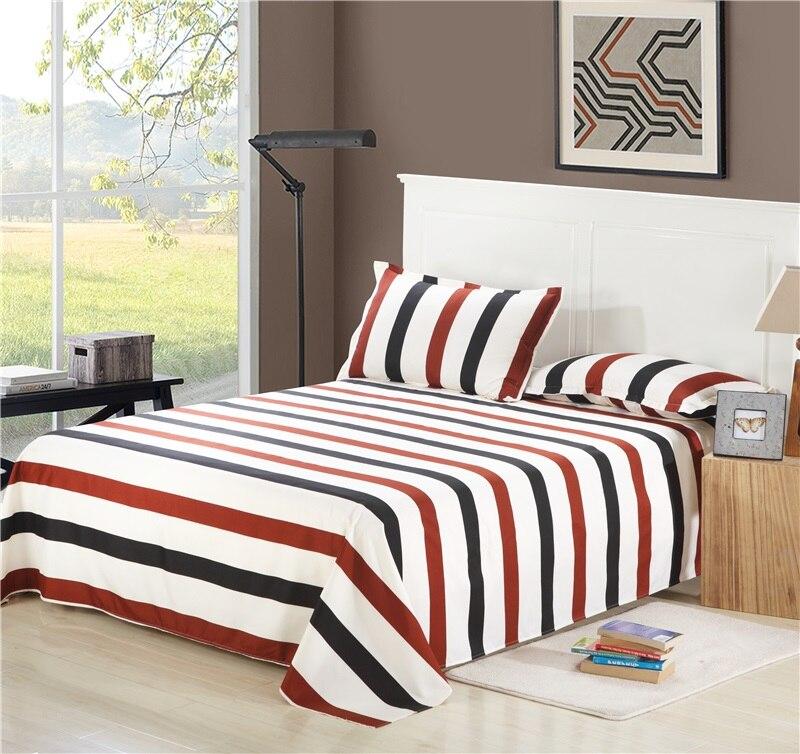1pc Bed Sheet Sabanas Cama Sheets, Queen Size Bedsheet In Meters