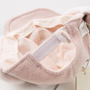 Image 4 - DB11825 デイブベラ冬女の赤ちゃん帽子キャップ子供ピンクブティック