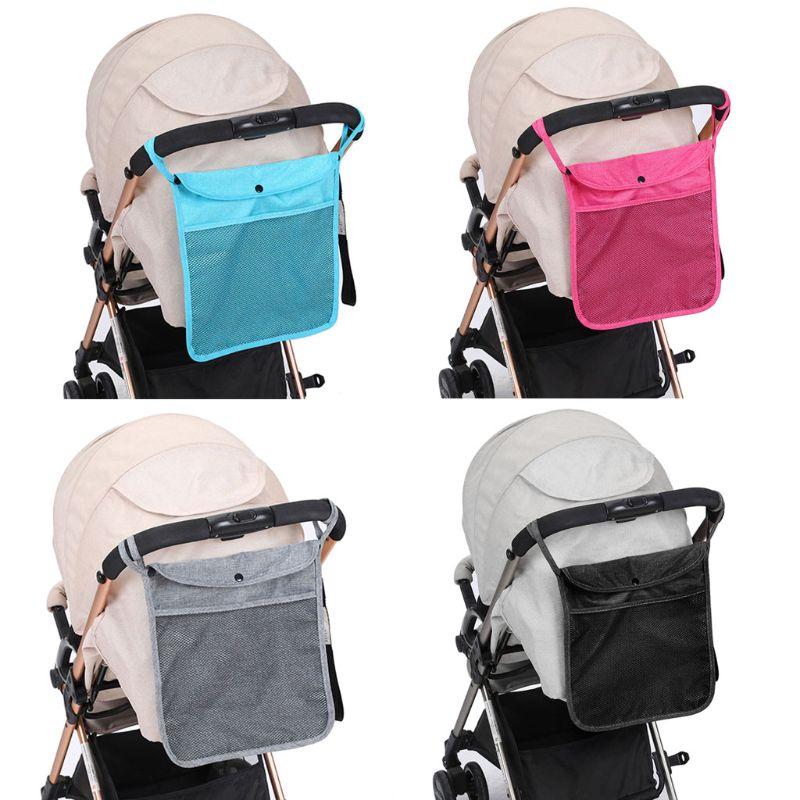 Baby Pram Parts Stroller Carrying Mesh Bag Storage Net Accessories 2pcs
