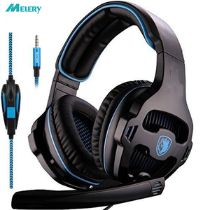 Image 1 - Gaming Headset Single 3.5mm Jack Gamer Headphones with Microphone,PC Adapter for New Xbox One/PS4/PlayStation 4 Laptop Phone