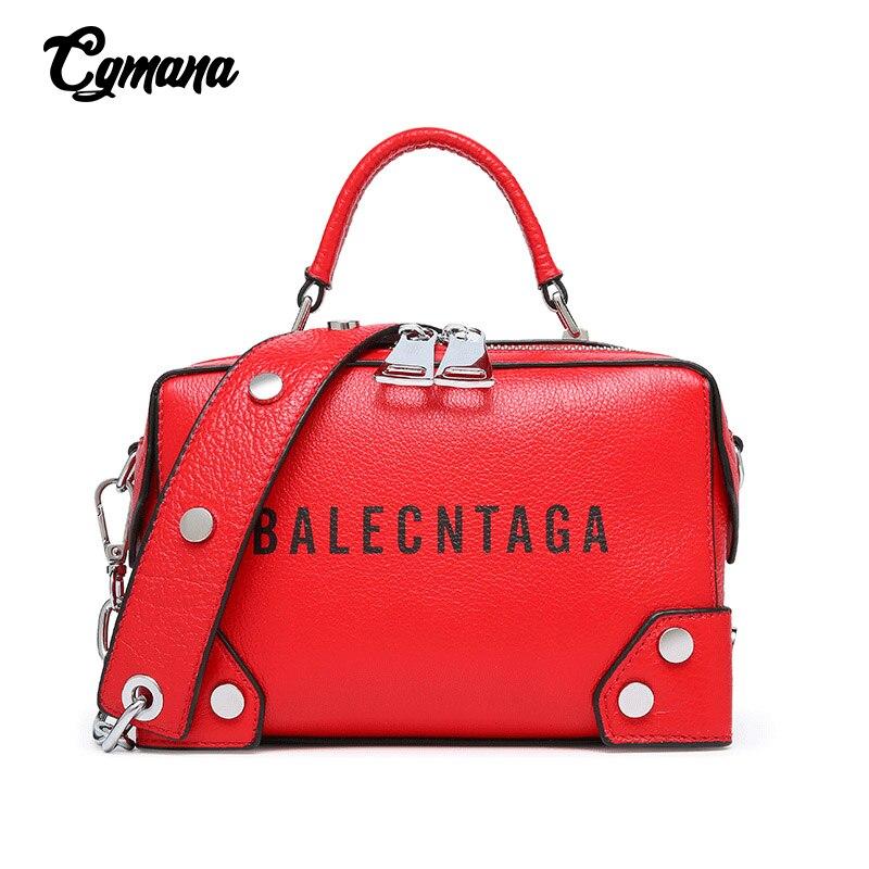Designer de luxe femmes sacs à bandoulière 2019 en cuir véritable marque sac pour femmes dames fourre-tout décontractés chaîne Messenger sac large sangle