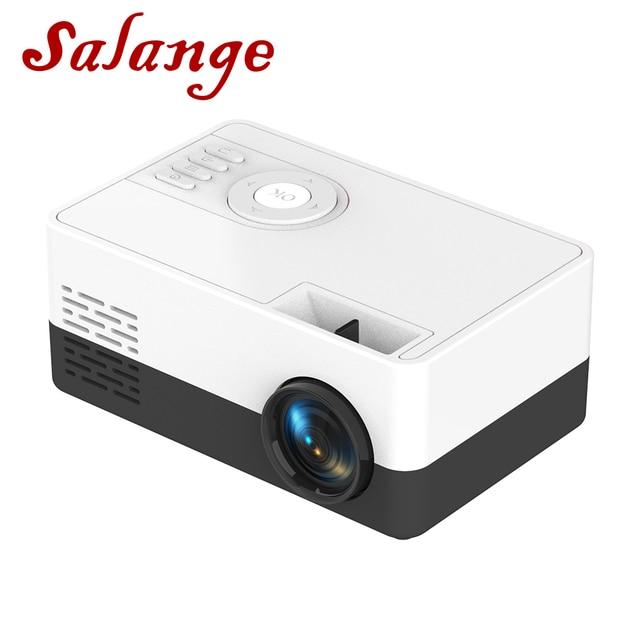 Salange Mini Projector J15, 320*240 Pixels Supports 1080P HDMI USB  Mini Beamer Home Media Player Kids Gift 1