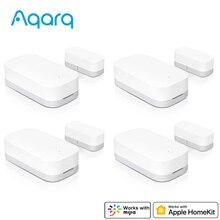Aqara Deur Raam Sensor Deur Magneet Zigbee Draadloze Verbinding Werken Met Homekit Mijia App Voor Home Security Van Xiaomi Youpin