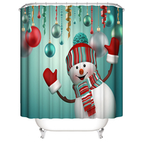1pcs Shower Curtain 2
