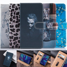 Case For LG K30 K40 K50 X6 X4 2019 cover Leather 3D Flip case book on Hisense R5 Fly Life Geo Sky Zen wallet phone housing coque(China)