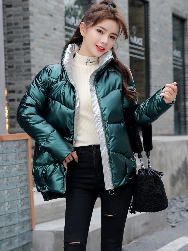Winter Jacket Clothing Parkas Coat Women Warm Fashion Woman High-Quality Casual Stand-Callor
