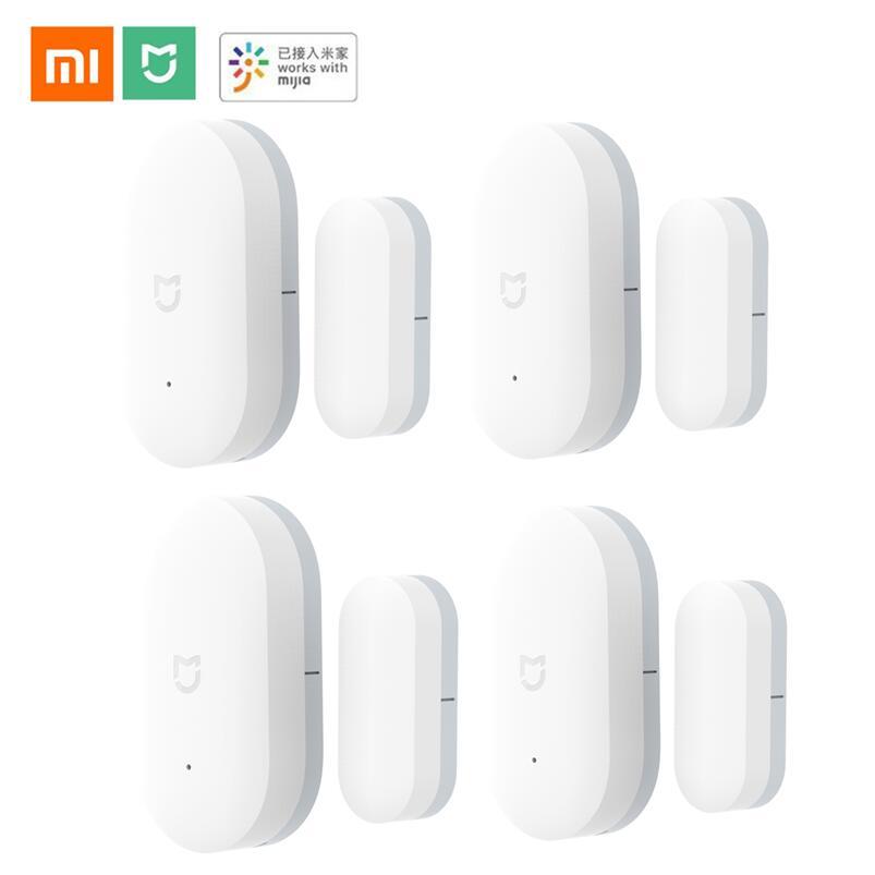 Xiaomi door Window Sensor Intelligent Mini Door Sensor Pocket Size Smart Home Automatic control by Xiaomi Smart mi Home App(China)