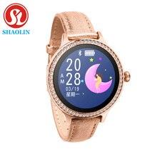 スマート腕時計カラー画面スポーツトラッカーIP68防水心拍数血圧女性の生理期間リマインダー