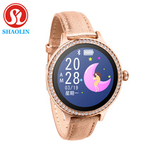 Smart Watch Color Screen Sport Tracker IP68 Waterproof Heart Rate Blood Pressure Female Physiological Period Reminder