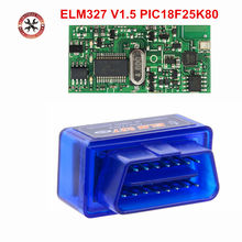 2019 Newst Firmware V1.5 Super Mini ELM327 Bluetooth Met PIC1825K80 OBD2 Diagnostic Tool Elm 327 V1.5 Bluetooth Gratis Verzending