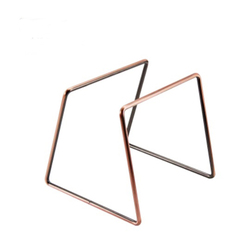 Drip Coffee For Filter Cup Holder Shelf Geometry Coffee Dripper Stand V60 Drip Metal Special Frame For Barista Bronze