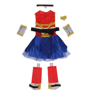 Image 2 - Deluxe Child Dawn Of Justice Wonder Woman Costume