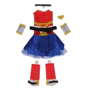 Image 2 - Deluxe Kind Dawn Van Justice Wonder Vrouw Kostuum