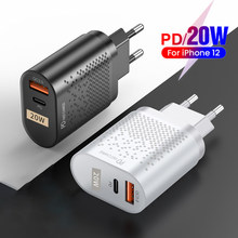 Electop Usb Type C Lader Mini Quick Charge 3.0 Qc Pd 20W Mobiele Telefoon Oplader Voor Iphone 12 Samsung xiaomi Snelle Muur Laders